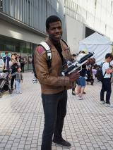 """東京・六本木ヒルズアリーナで開催された""""STAR WARS DAY"""" TOKYOの模様。フィン役のジョン・ボイエガのそっくりさんが! (C)ORICON NewS inc."""