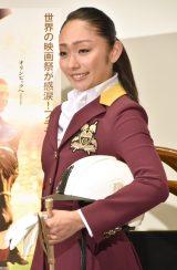 映画『世界にひとつの金メダル』大ヒット祈願イベントに出席した安藤美姫 (C)ORICON NewS inc.