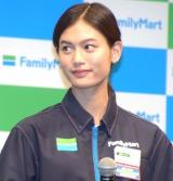 ファミリーマートの新戦略発表会に参加した立花恵理 (C)ORICON NewS inc.