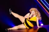 シークレットゲストとして爆裂ダンスを披露した渡辺直美=『Perfume Fes!!2017』より 写真:上山陽介