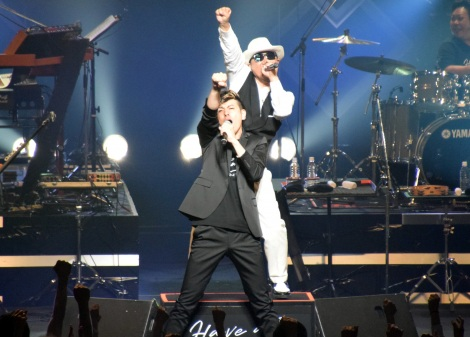 Chageと川島ケイジの限定ユニット・フクブクロ=コンサート『Chage Hall Tour 2017〜Have&Dream〜』 (C)ORICON NewS inc.