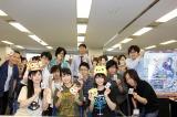 オリコン本社を訪問した(左から)小原莉子、高野麻里佳、高木友梨香 (C)oricon ME inc.
