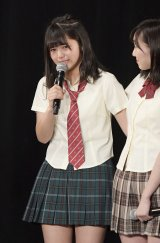 SKE48の21stシングル「意外にマンゴー」で初選抜された北野瑠華(C)AKS