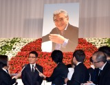松方さんとの別れを惜しんだ五木ひろし=松方弘樹さんを偲ぶ会 (C)ORICON NewS inc.