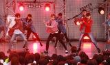 """フリーライブ『EXO-CBX Free Showcase """"Colorful BoX""""』の模様"""