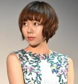 映画『結婚』完成披露試写会に出席した柊子 (C)ORICON NewS inc.