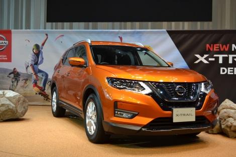 自動運転技術を搭載した新型SUV『X-TRAIL』の新色「プレミアムコロナオレンジ」 (C)oricon ME inc.