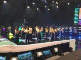 6月9日放送、テレビ朝日系『ミュージックステーション』リハーサル中のE-girls  (C)テレビ朝日