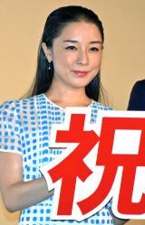 『昼顔』初日舞台あいさつに登壇した伊藤歩 (C)ORICON NewS inc.