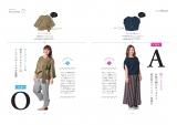 大瀧彩乃『ぽっちゃり女子のファッションbook』より。ぽっちゃり体型を3タイプに分けモデルベースで似合う服を解説する。