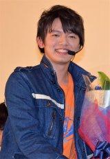 『劇場版 ウルトラマンオーブ 絆の力、おかりします!』舞台あいさつに登壇した濱田龍臣 (C)ORICON NewS inc.