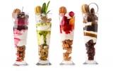 人気のチョコパフェにフルーティな新作3種が加わった今夏のパフェコレクション