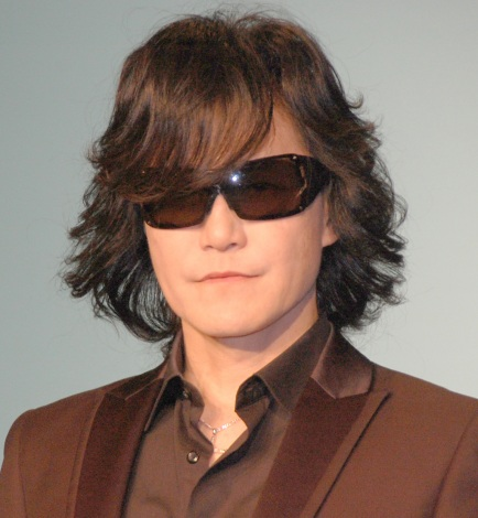 緊急記者会見を開いたX JAPANのToshl (C)ORICON NewS inc.