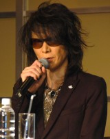緊急記者会見を開いたX JAPANのHEATH (C)ORICON NewS inc.