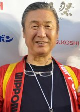 エンターテインメント公演『日本元気プロジェクト2017 スーパーエネルギー!!』で2020年東京五輪プロデュースに含みをもたせた山本寛斎 (C)ORICON NewS inc.