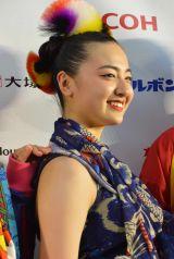 エンターテインメント公演『日本元気プロジェクト2017 スーパーエネルギー!!』に出演した鈴木瑛美子 (C)ORICON NewS inc.