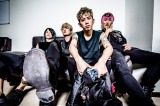 ONE OK ROCK(左から)Tomoya、Toru、Taka、Ryota