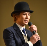 『紳士のための愛と殺人の手引き』制作発表会に出席した柿澤勇人 (C)ORICON NewS inc.