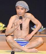 43キロの健康体を披露した片岡鶴太郎 (C)ORICON NewS inc.