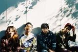 3月25日のワンマンライブをもって無期限活動休止するThe SALOVERS 写真左から小林亮平(B)、 藤川雄太(Dr)、古舘佑太郎(Vo/G)、藤井清也(G)