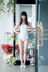 『第9回AKB48選抜総選挙』速報で暫定1位となったNGT48・荻野由佳(C)HIROKAZU/週刊プレイボーイ
