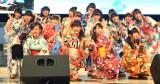 4thシングル「チアリーダー/恋花火」のリリース記念イベントを行ったふわふわ (C)ORICON NewS inc.