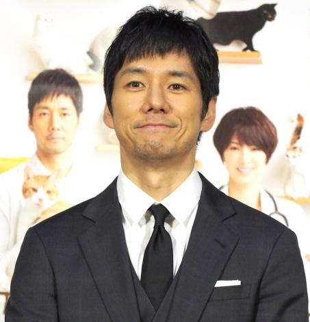 NHKドラマ10『ブランケット・キャッツ』の試写会に出席した西島秀俊 (C)ORICON NewS inc.