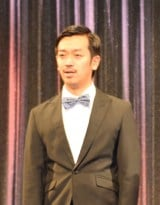 『よしもとオススメ芸人2017 お披露目会』に出席したムーディ勝山 (C)ORICON NewS inc.