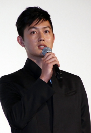 映画『ちょっと今から仕事やめてくる』初日舞台あいさつに登壇した工藤阿須加(C)ORICON NewS inc.