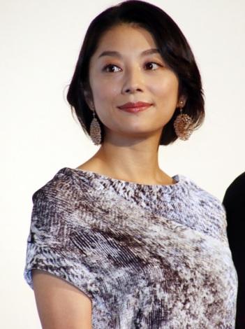 映画『ちょっと今から仕事やめてくる』初日舞台あいさつに登壇した小池栄子(C)ORICON NewS inc.