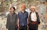 オリジナルミュージカル『オーバーリング・ギフト』への意気込みを語った(左から)風間由次郎、杉本雄治(WEAVER)、猪塚健太