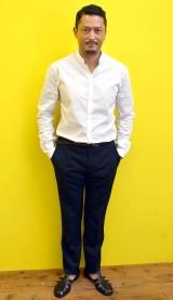 ジャッキー・チェン主演映画『レイルロード・タイガー』で重要な役どころを演じる池内博之 (C)ORICON NewS inc.