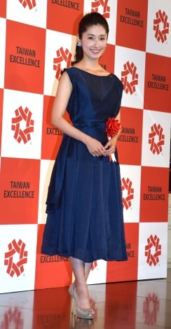 『2017 TAIWAN EXCELLENCE in Tokyo』記者会見に出席した田中千絵 (C)ORICON NewS inc.