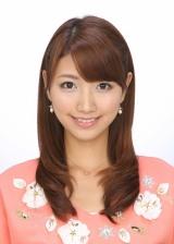 フジテレビの特番『第9回AKB48総選挙SP』のMCを務める三田友梨佳
