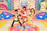 (左から)茶太郎(CV:盛永晶月)、アズキ(CV:土屋希乃)、マロン(CV:アイラ・サマーヘイズ)(C)NHK