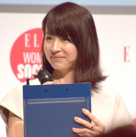 『ELLE WOMEN in SOCIETY 2017』に参加した平井理央 (C)ORICON NewS inc.