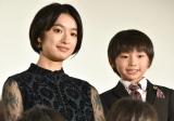 (左から)門脇麦、中野遥斗=映画『こどもつかい』公開記念舞台あいさつ (C)ORICON NewS inc.