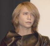 映画『霊眼探偵カルテット』舞台あいさつに出席したShinya(DIR EN GREY) (C)ORICON NewS inc.