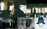 Aimerに楽曲提供した【下段左から】ONE OK ROCKのTaka(左から2人目)、TK、野田洋次郎