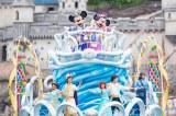 東京ディズニーシー「ディズニー七夕デイズ」七夕グリーティング(C)Disney