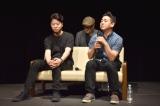 トークイベント『Hulu presents トンコハウスの旅 2017』に出席した(左から)エリック・オー氏、ロバート・コンドウ氏 (C)ORICON NewS inc.