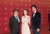 『第20回上海国際映画祭』に参加した(左から)『昼顔』の西谷弘監督、上戸彩、斎藤工