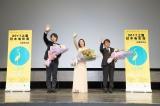 『第20回上海国際映画祭』に参加した(左から)斎藤工、上戸彩、西谷弘監督