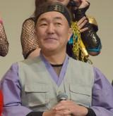 映画『JKニンジャガールズ』舞台あいさつに出席した温水洋一 (C)ORICON NewS inc.