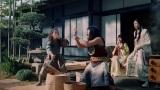 三太郎新CM『やってみよう』篇、場面カット