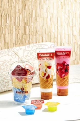 サムネイル 「コールド・ストーン・クリーマリー・ジャパン」からアイスの香りがするボディケアアイテムが登場!
