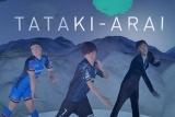 Perfumeのダンスを完コピした、(※写真向かって左から)サッカーの遠藤保仁選手、ラグビーの山田章仁選手、パナソニックの社員