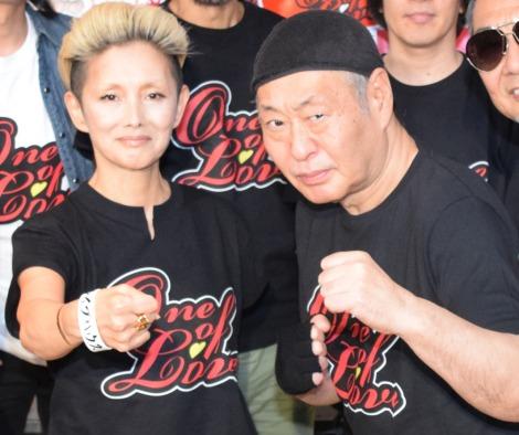 支援プロジェクト『One of Love プロジェクト GIG vol.8』に出演した(左から)夏木マリ、泉谷しげる (C)ORICON NewS inc.