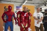 「スパイダージェット」初便フライト記念イベントに登場したバイきんぐ