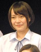舞台『転校生』公開ゲネプロ後囲み取材に出席した永山香月 (C)ORICON NewS inc.